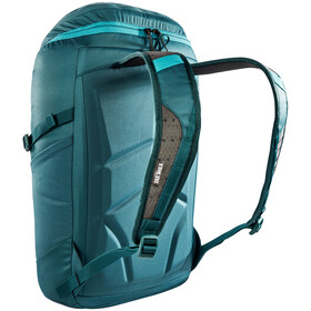Tatonka City Pack 22 Rugzak, teal green zig zag